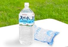 水割りセット(ミネラルウォーター+ロックアイス)