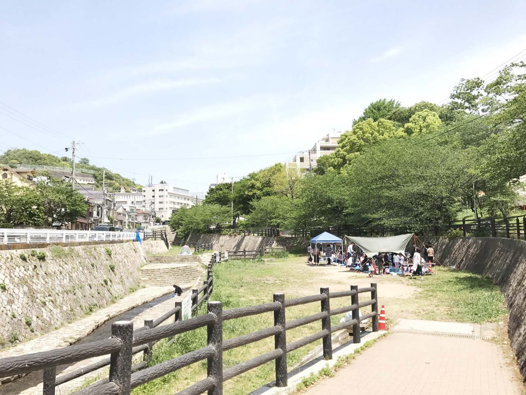 宇治川の京滋バイパス